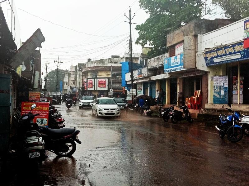 Chhattisgarh Weather : सावन के पहले दिन बरसे बादल, सरगुजा में भारी बारिश की संभावना
