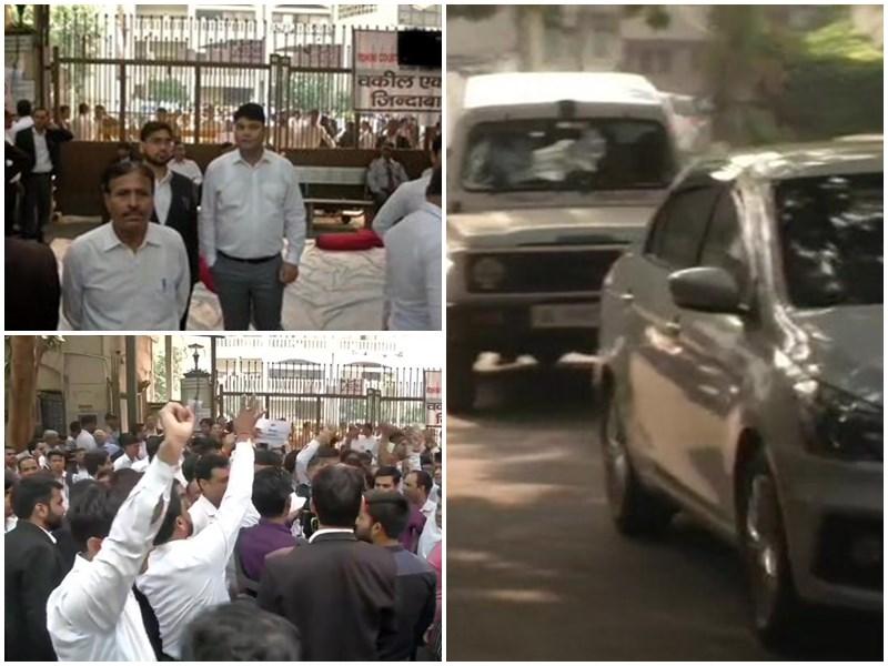 Delhi Lawyers Protest: दिल्ली में वकीलों की हड़ताल जारी, समर्थन में आया बार काउंसिल