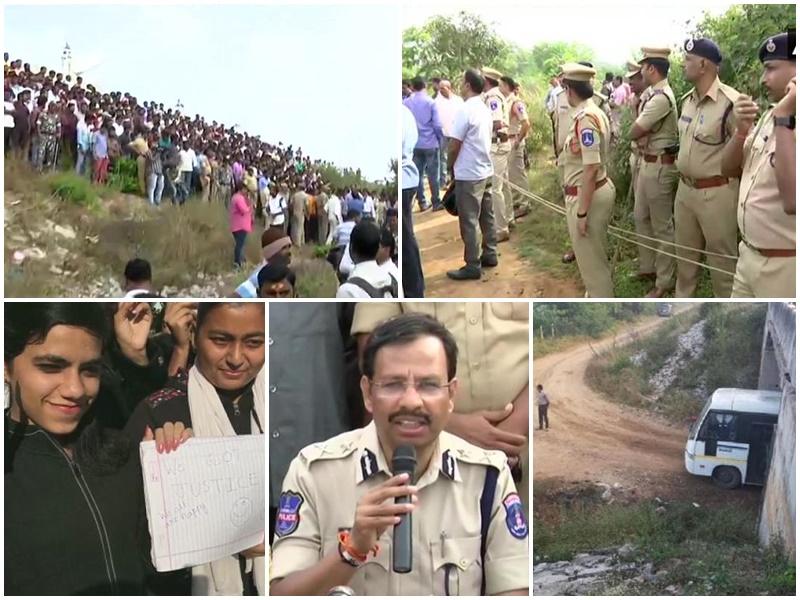 Hyderabad Encounter: हैदराबाद में सुबह 5.45 से 6.15 के बीच चली मुठभेड़, चारों आरोपी ढेर, विस्तार से पढ़ें पूरे दिन का हाल