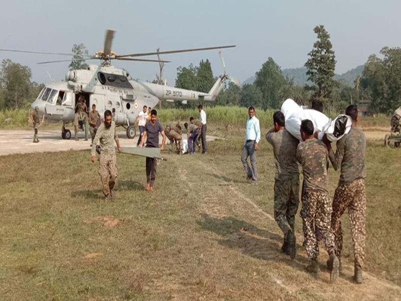 Narayanpur ITBP Camp : बहुत समझाया, तब जवानों ने 30 घंटे बाद खाया खाना