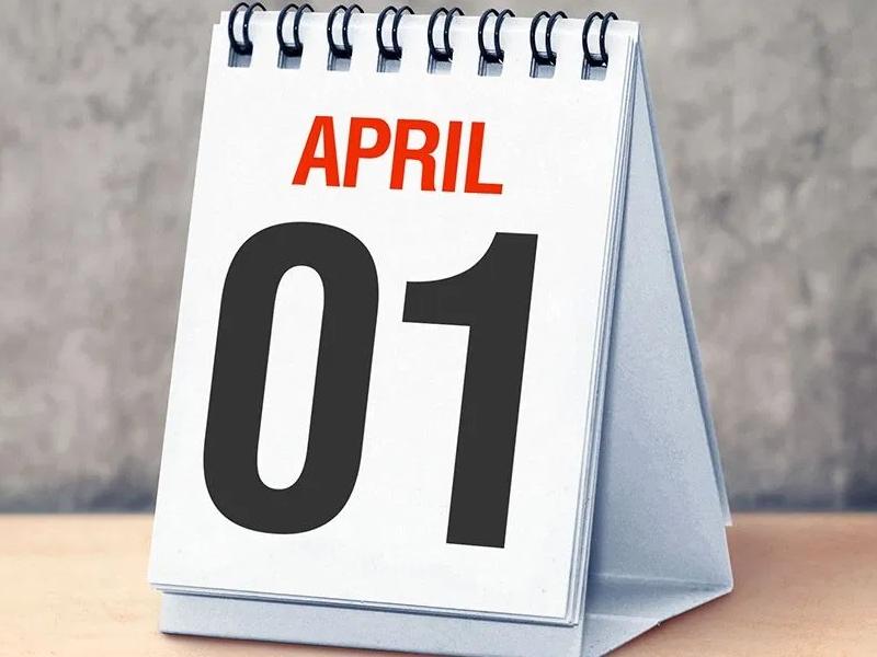 1 अप्रैल से PAN Income Tax GST समेत बदल रहे हैं ये नियम जानें इनके बारे में