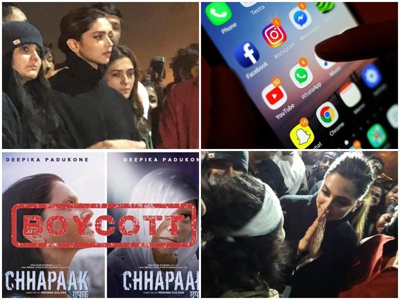 Deepika Padukone की फिल्म chhapaak आज होगी रिलीज, Social Media पर हो रहा Boycott