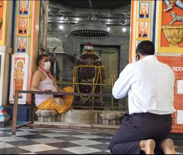 स्क्रीनिंग के बाद मिला पशुपतिनाथ मंदिर में प्रवेश