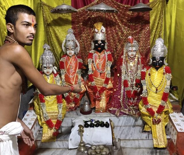 शहडोल में खुला 120 वर्ष पुराना मंदिर