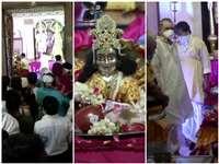 Krishna Janmashtami 2020 मथुरा, वृंदावन, नंदगांव, बांकेबिहारी मंदिर में मनी जन्माष्टमी, भक्तों ने TV पर किए LIVE दर्शन