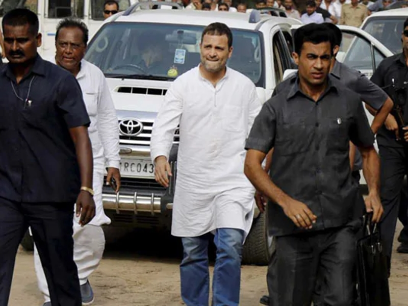 SPG Cover Withdrawal from Rahul Gandhi: राहुल गांधी ने रोज एक बार एसपीजी सुरक्षा घेरा तोड़ा