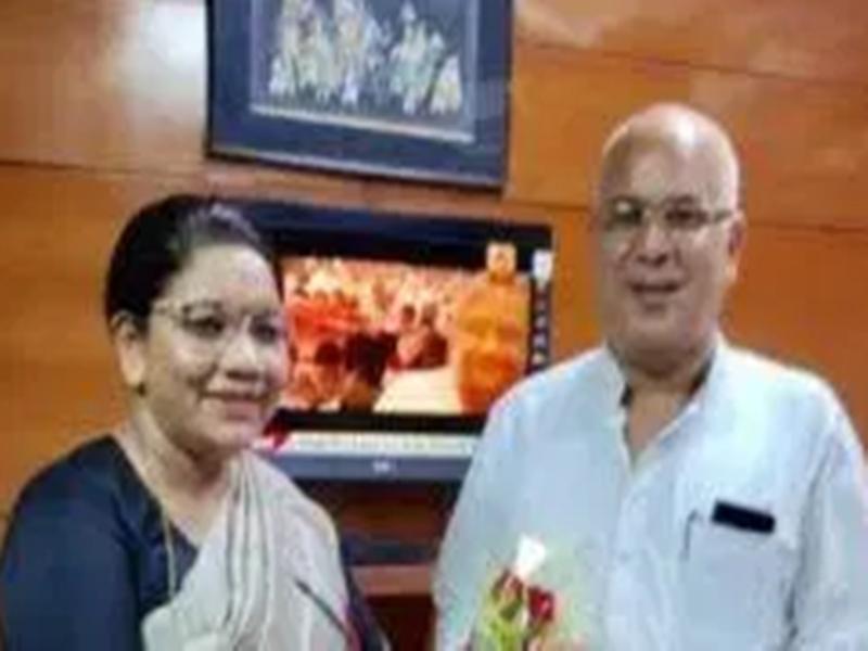केंद्रीय मंत्री रेणुका सिंह ने भूपेश सरकार पर धान खरीदी को लेकर निशाना साधा