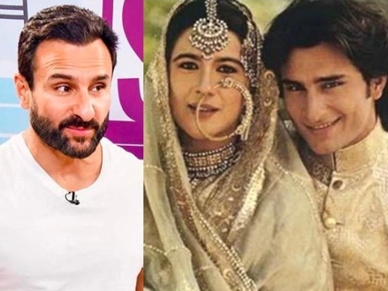 Saif Ali Khan ने Amrita Singh को दिया अपनी success का श्रेय, कहा - seriously काम करना उसी ने सिखाया