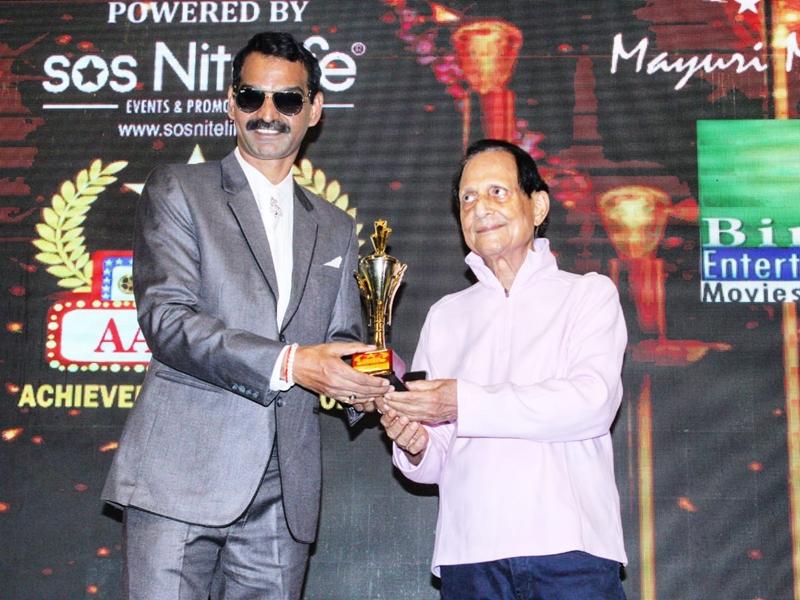 संजय सिंह काकरान को डेब्यू निर्देशक के लिए मिला सिनेमा आज तक अवॉर्ड