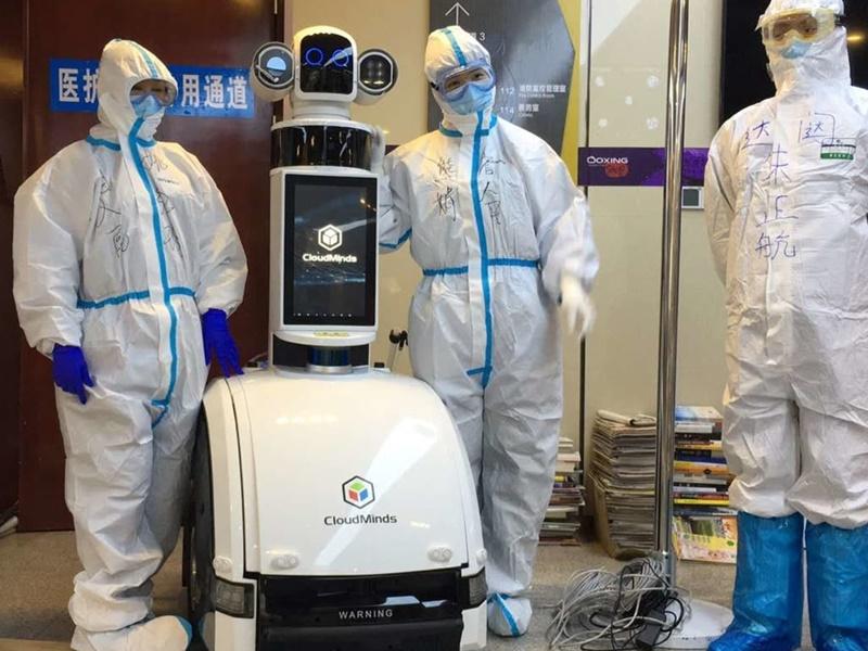 कोरोना वायरस के खिलाफ युद्ध में रोबोट्स बन सकते हैं हीरो, साबित की अहमियत