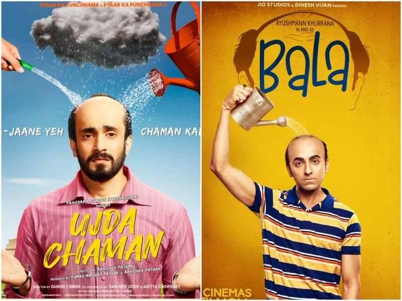 Box Office : Ujda chaman को हरा दिया Bala की एक दिन की कमाई ने
