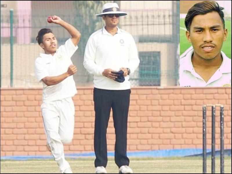 Ranji Trophy Cricket: मणिपुर के Rex Singh फिर सुर्खियों में, 1 घंटे में पूरी टीम को 65 पर समेटा