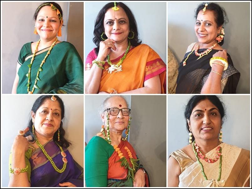 Viral Photo : शादी में अनोखी थीम, सोना 50 हजार रुपए तोला हुआ तो महिलाओं ने पहने कच्ची सब्जियों के गहने