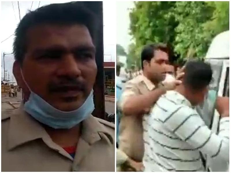 Ujjain News : कांस्टेबल ने थप्पड़ मारा तो बोला था विकास दुबे- उत्तर प्रदेश में होता तो तुम्हारे घरों में आग लगवा देता, देखें वीडियो