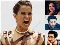 Kangana Ranaut ने रणबीर को 'सीरियल स्कर्ट चेजर' और आयुष्मान को 'चापलूस आउटसाइडर्स' कहा