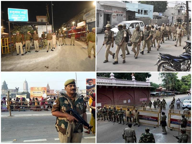Ayodhya Verdict 2019 : अयोध्या पर फैसले के कारण देश भर में रहे सुरक्षा के कड़े बंदोबस्त, पढ़ें दिन भर का हाल