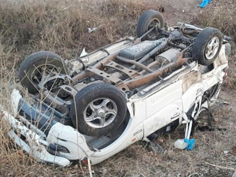 श्योपुर में मवेशी को बचाने के प्रयास में पलटी कार, मां और डेढ़ माह के बेटे की मौत