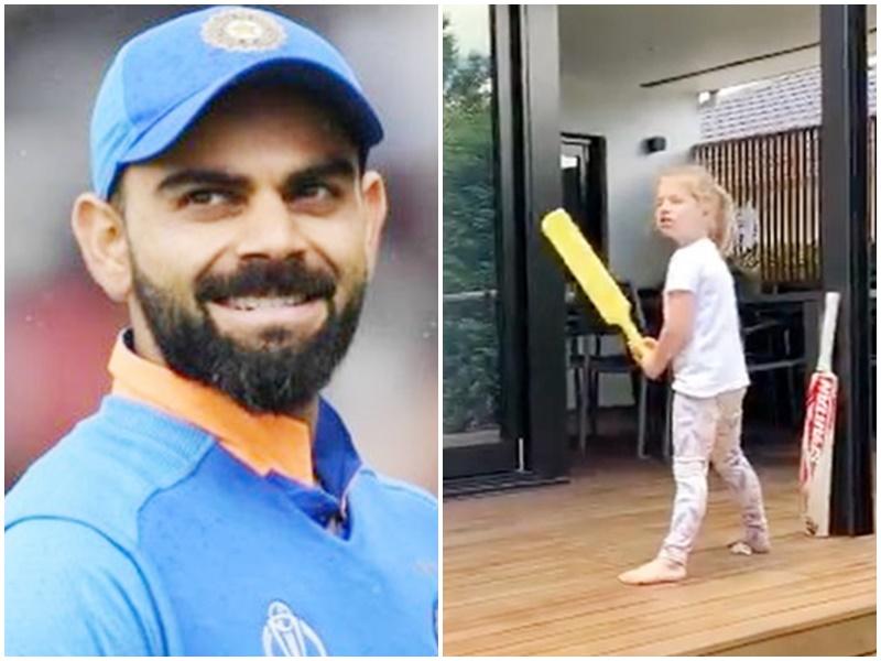 David Warner daughter is Virat Kohli big fan: देखिए वॉर्नर की बेटी इंडी का मजेदार Video