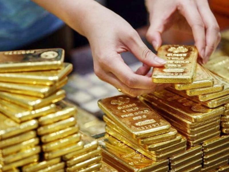Gold ETF में सात साल का रिकॉर्ड निवेश
