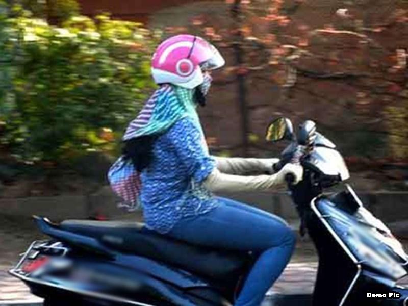मध्य प्रदेश में महिलाओं के लिए भी हेलमेट पहनना हो सकता है अनिवार्य