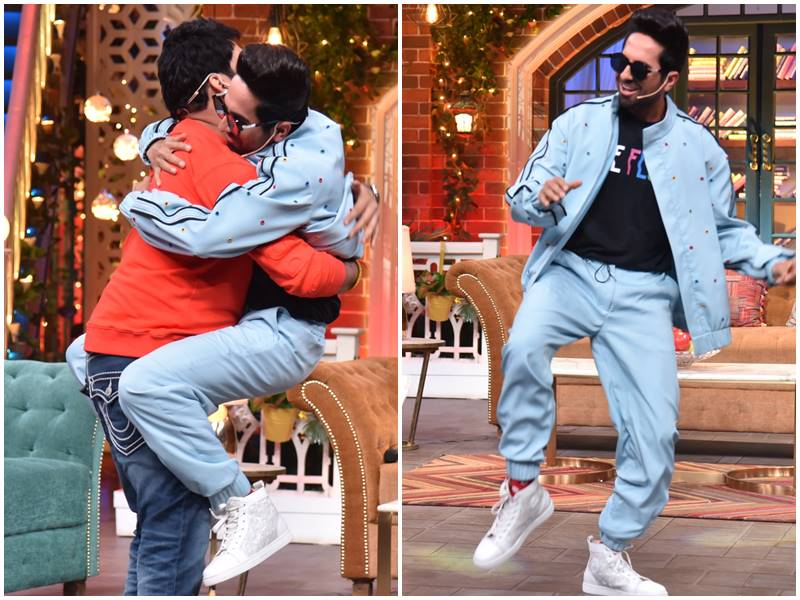 Ayushmann Khurrana ने Kapil Sharma के शो पर मचाई धूम, पूरी टीम थी साथ