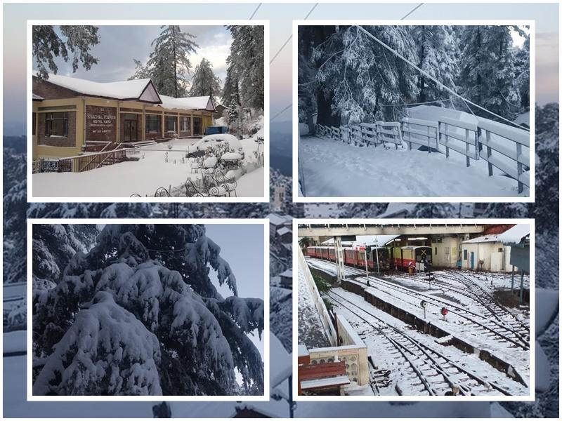 Weather Update : खराब मौसम के चलते शनिवार को यहां सारे स्कूल रहेंगे बंद, देखें बर्फबारी की तस्वीरें