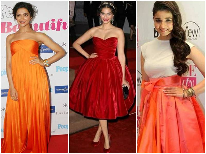 Deepika Padukone से Alia Bhatt तक देखे उन एक्ट्रेस की लिस्ट जो पहन चुकी हैं हॉलीवुड स्टार्स जैसी ड्रेस