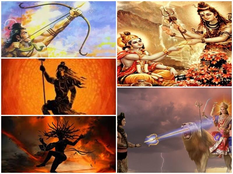 Sawan Somwar Special: शिव के पास हैं विनाशक हथियार, दुष्टों का कर देते हैं पल भर में संहार