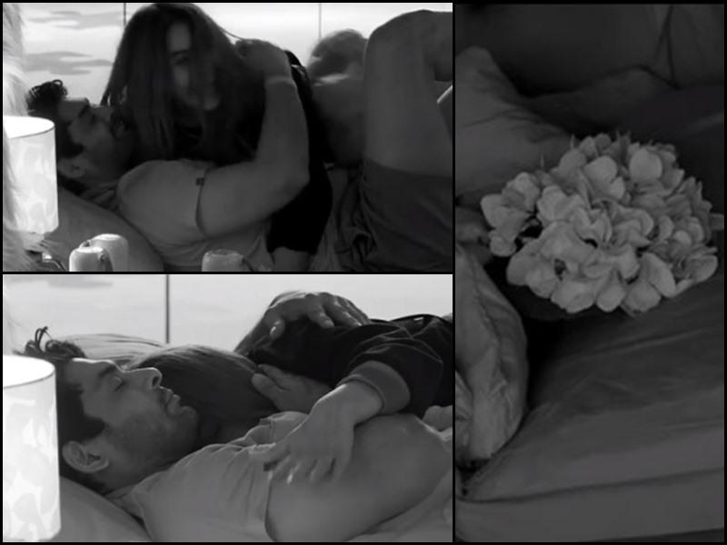 Bigg Boss 13 : आधी रात को Shehnaz Gill पहुंची Sidharth Shukla के बेड पर, गले मिलाकर किया Kiss