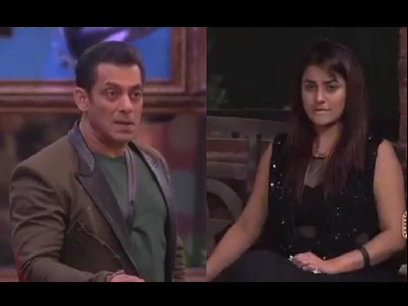 Bigg Boss 13: Shehnaaz Gill पर भड़के Salman Khan, कहा - चार आदमी क्या जानने लगे, Katrina Kaif बन गई क्या