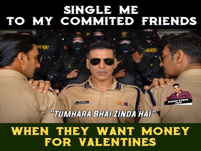 Happy Valentine Day 2020 Funny Memes: वेलेंटाइन डे पर तनहा दिलों का ऐसा है हाल, सोशल मीडिया में आई मीम्स की बाढ़