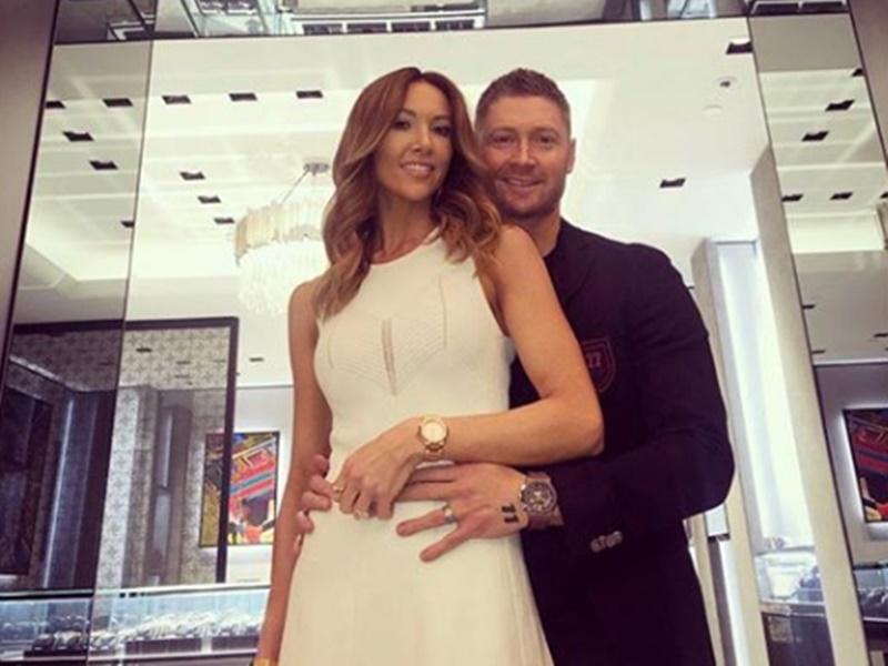 पत्नी काइली से अलग हुए Michael Clarke, करीब 3 अरब रुपयों का हुआ तलाक का समझौता