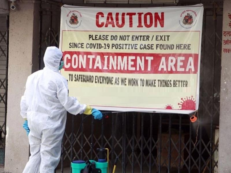 Coronavirus In Raipur : कोरोना के नए मरीज मिलने के बाद रायपुर के ये इलाके बने कंटेनमेंट जोन