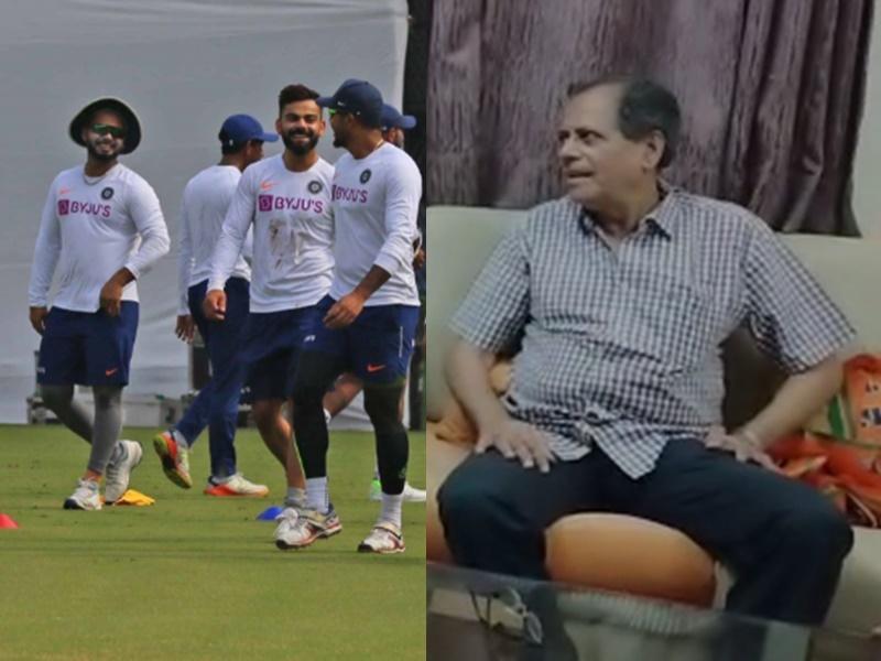 India vs Bangladesh Indore Test: पद्मश्री दोशी अपने घर में पहली बार सुनाएंगे टेस्ट का आंखों देखा हाल