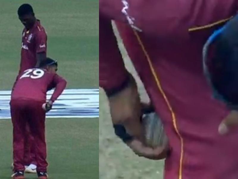 Ball Tampering: वेस्टइंडीज के निकोलस पूरन पर ICC ने लगाया बैन