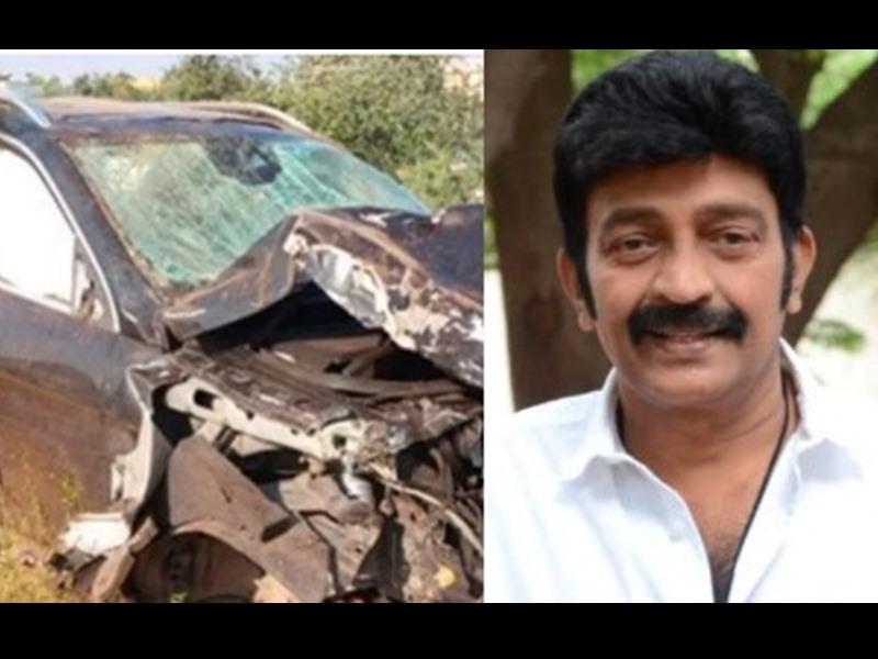 मर्सिडीज डिवाइडर से टकराकर हुई चकनाचूर, गुजरने वालों ने Actor को निकाला गाड़ी से बाहर