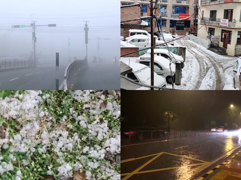 Weather Alert: आज और कल MP, राजस्थान समेत इन राज्यों में होगी बारिश, ओलों ने बढ़ाई ठंड