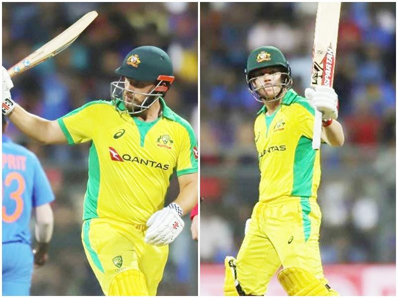 India vs Australia 1st ODI highlights: David Warner और Aaron Finch की जोड़ी ने बनाए ये रिकॉर्ड