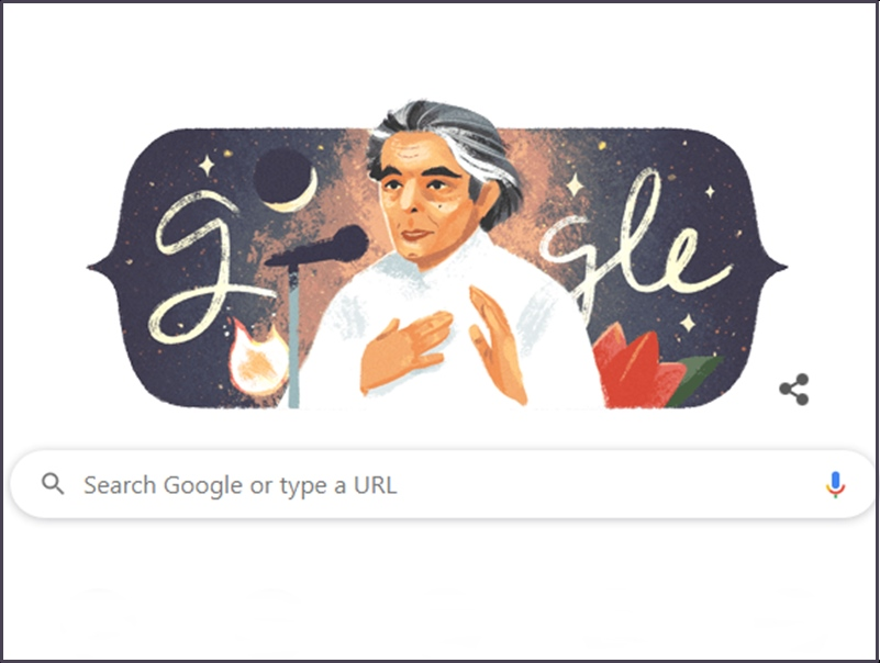 Kaifi Azmi की 101th Birth Anniversary पर Google ने बनाया स्पेशल डूडल