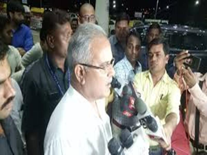 सीएम भूपेश बघेल ने भाजपा और आरएसएस पर साधा निशाना