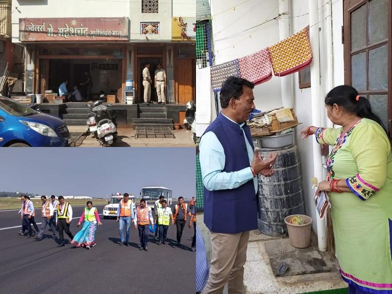 Madhya Pradesh News Live Updates: भोपाल में स्वास्थ्य मंत्री का निरीक्षण, सिवनी में आयकर की कार्रवाई, इंदौर में रने वे पर सफाई