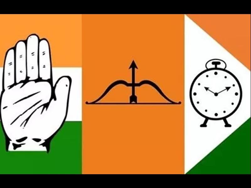 Maharastra Government : महाराष्ट्र में सरकार गठन पर कांग्रेस, राकांपा व शिवसेना नेताओं की बैठक