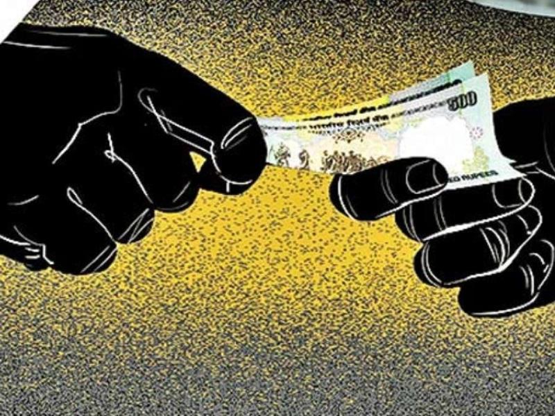 Bhopal News : 50 हजार की रिश्वत लेने वाले खाद्य निरीक्षक तिवारी के घर तलाशी में मिले 82 हजार नकद