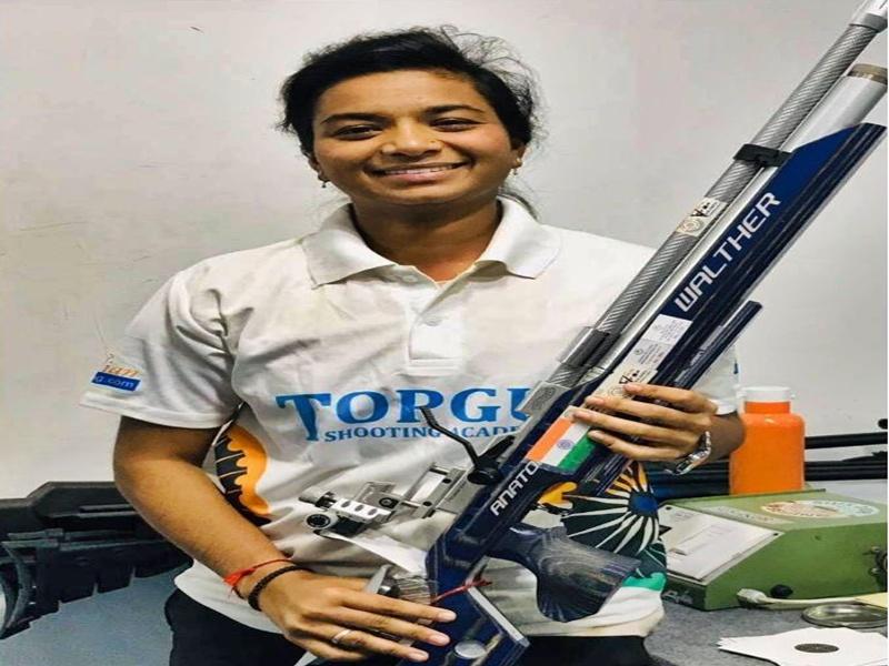 Chhattisgarh : पहली बार अंतरराष्ट्रीय शूटिंग में निशाना साधेंगी छत्तीसगढ़ की बेटी