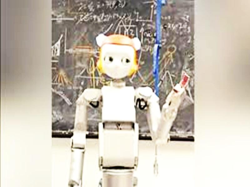 Unique Robot : बुजुर्गों-दिव्यांगों की करेगा मदद, ट्रिपल-IT के कोमल का कमाल