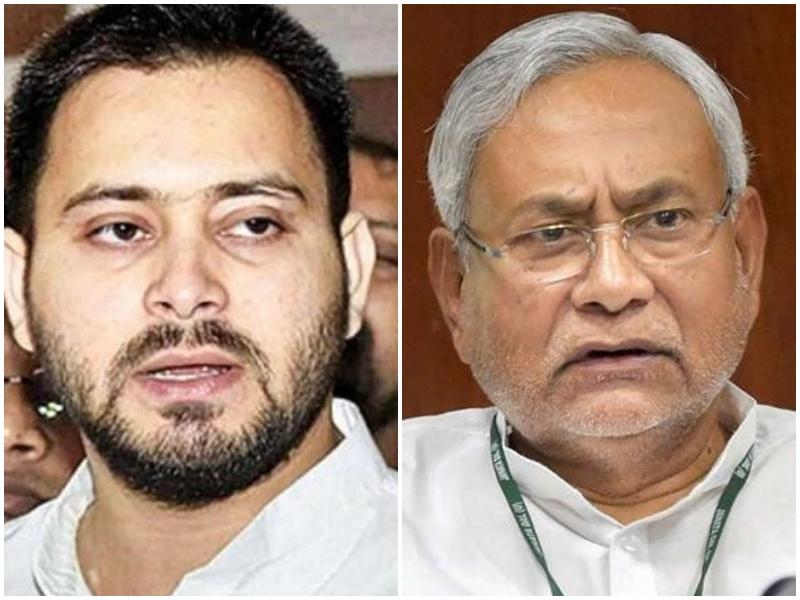 तेजस्वी यादव ने नीतीश कुमार को लेकर दिया विवादित बयान, गरमाई राजनीति