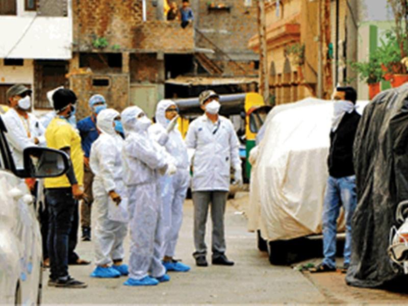 Indore Coronavirus News Update : इंदौर में 117 पॉजिटिव और मिले, दिल्ली से आई रिपोर्ट, शहर में कुल 544 कोरोना मरीज