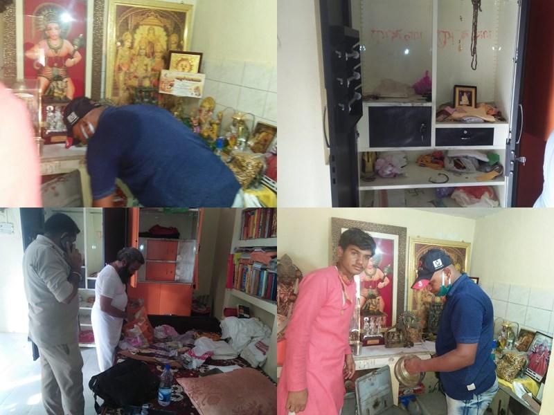 Dandraua Dham Bhind : भिंड के प्रसिद्ध डॉक्टर हनुमान मंदिर दंदरौआ धाम में 30 लाख की चोरी