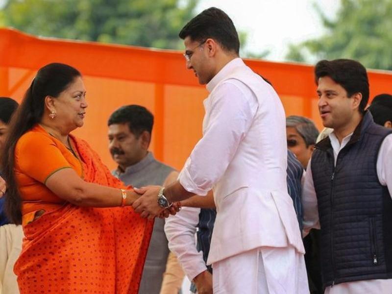 राजस्थान: सियासी सकंट के बीच अब तक नजर नहीं आईं Vasundhara Raje, जानिए कहां हैं पूर्व सीएम