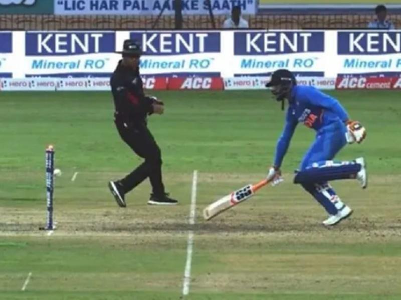 India vs West Indies: जडेजा के विवादास्पद रन आउट पर भड़के विराट कोहली, देखिए Video